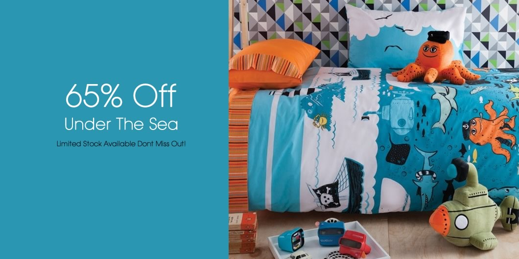 UNDER THE SEA SALE