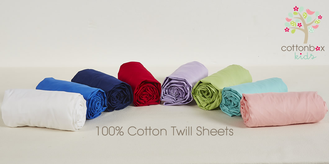 COTTON TWILL SHEETS