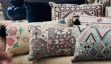 EXQUISITELY CRAFTED CUSHIONS