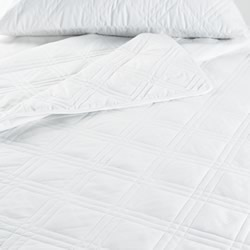 Diamond Cotton Fitted Mattress Protectors