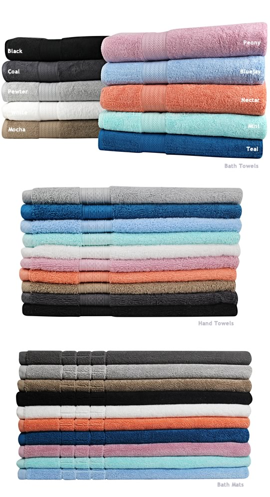 Meridian Cotton Towels By Odyssey Living Cottonbox