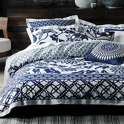 Han Indigo Quilt Cover Set