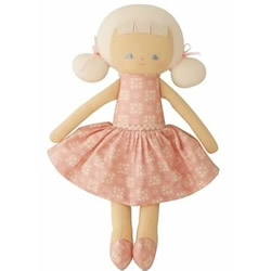 Audrey Pink Medallion Doll