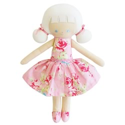Audrey Pink Floral Doll