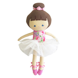 Baby Ballerina Pink Rose Doll