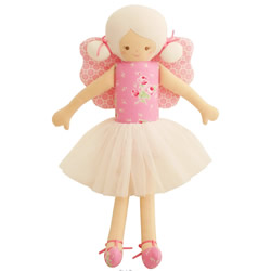 Fairy Pink Rose Doll