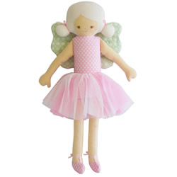 Fairy Pink Mint Doll