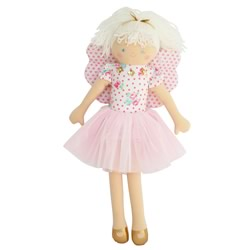 Fairy Doll White Floral