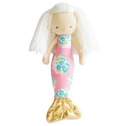Mermaid Pink Doll