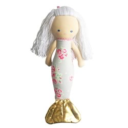 Mermaid Grey Doll