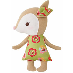 Woodland Green Pansy Deer