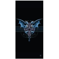 Dragon Duo Beach Towel