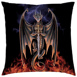 Dragon Warrior Cushion