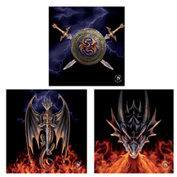Dragon Warrior 3 Pack Wall Art