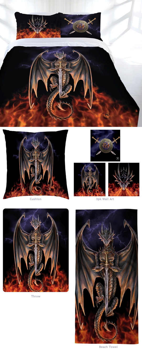 Dragon Warrior Bed Linen
