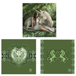 Pure Heart 3 Pack Wall Art