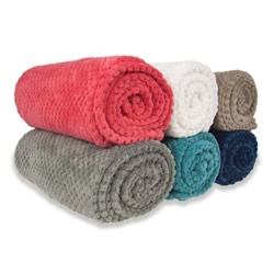 Diamond Fleece Blankets And Throws