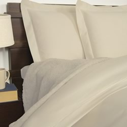 1900TC Cotton Rich Ivory Quilt Cover Set
