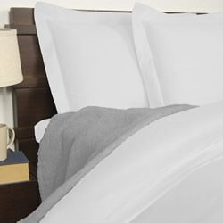 1900TC Cotton Rich White Quilt Cover Set