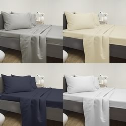 Cotton Rich 2500TC Sheet Sets