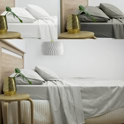 3000TC Cotton Rich Sheet Sets