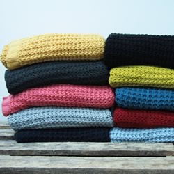 Acrylic Knitted Throws