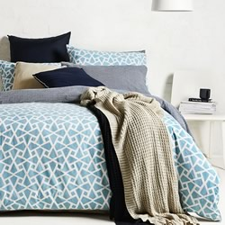 Coast Turquoise Quilt Cover Set