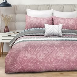Aiko Quilted Quilt Cover Set