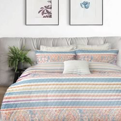 Ashley Quilted Quilt Cover Set