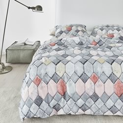 Go Grey Quilt Cover Set