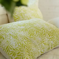 Delphine Lime European Pillowcase