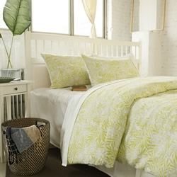 Delphine Lime Quilt Cover Set