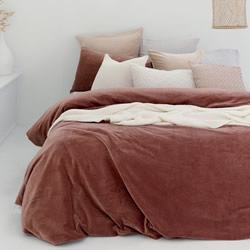 Emerson Cayenne Quilt Cover Set