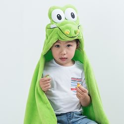 Hooded Throw Crocodile