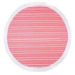 Horizon Coral Express Round Towel