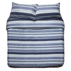Indiana Blue Commercial Quilt Cover Set