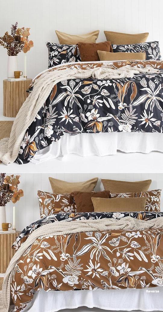 Kennedy Quilt Cover Set