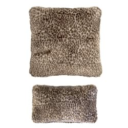 Leopard Faux Fur Cushions