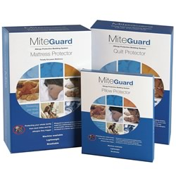 Miteguard Mattress, Quilt & Pillow Protectors