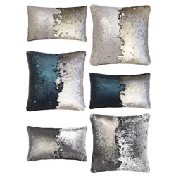 New Shimmer Cushions