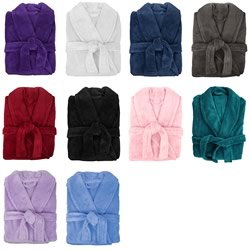 Retreat Microplush Bath Robes