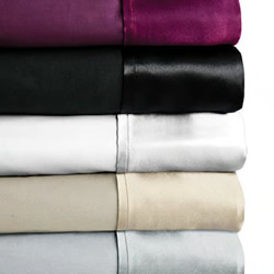 250TC Satin Cuff Sheet Set