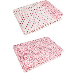 Holly Red & Pink Quilt Cover Set