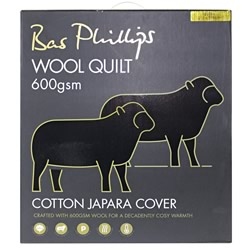 Luxury Wool Quilt 600gsm