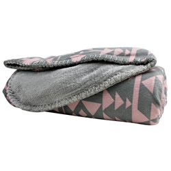Alpine Primrose Micromink Throw