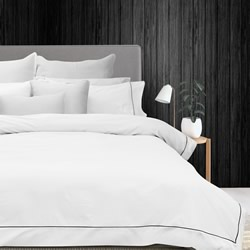 Bamboo White Quilt Cover Set
