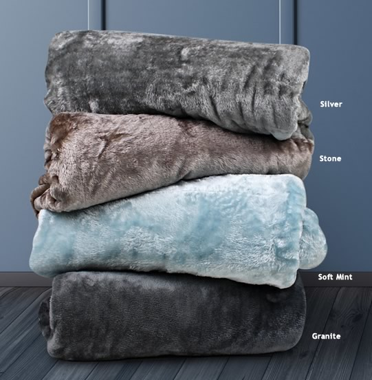 Super Soft Mink Touch Blankets