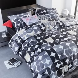 Alster Black Quilt Cover Set