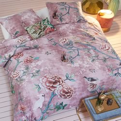Armelle Pink Quilt Cover Set