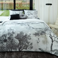 Brazil Black Quilt Cover Set